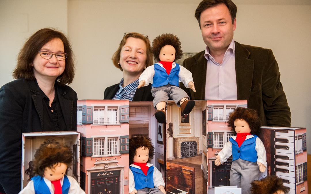 Claudia Weller entwickelt und produziert eine Beethoven-Puppe zu Beethovens Geburtstag